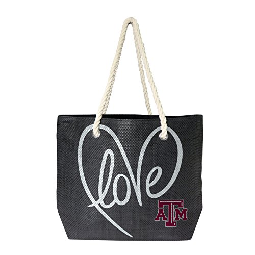 (NCAA Texas A&M Aggies Rope Tote Bag)