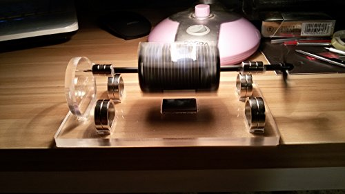 Sunnytech Solar Magnetic Levitation Model Levitating Mendocino Motor Educational Model ST41 by Sunnytech (Image #5)