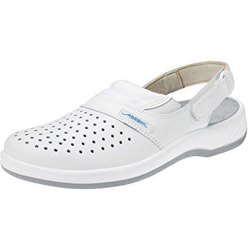 Abeba 8600-38 Arrow Chaussures sabot Taille 38 Blanc