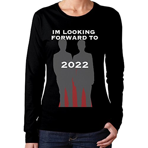 Price comparison product image Women's Phan Dan And Phil 2022 Sticker Black Long Sleeve Crew Necktee Shirt