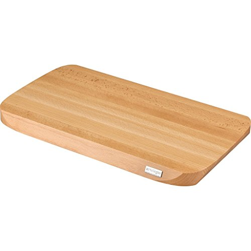 h Wood Extra Large Cutting Board, Luxurious Italian Siena Collection by Master Craftsmen, Ecofriendly, Natural Finish ()