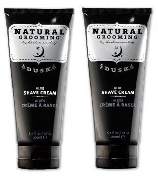 Herban Cowboy Dusk Premium Shave Cream, 6.7 Fluid Ounce (2 Pack) (Soap Herban Shave)