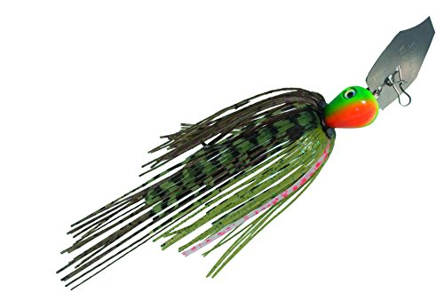 Strike King Pure Poison Extreme Action Swim'n Jig Bait (Blue Gill, 0.5-Ounce)