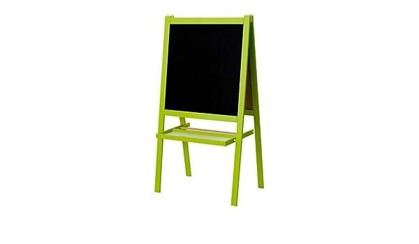 IKEA Verde Infantil Pizarra y pizarra, dos cara caballete + ...
