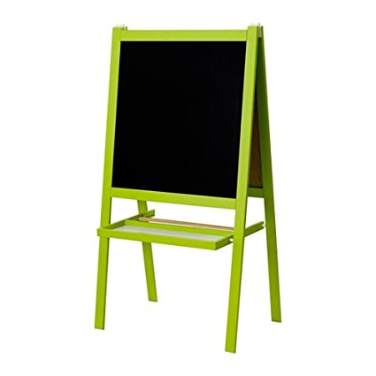 Ikea Green Childrens Blackboard Whiteboard Two Sided Easel