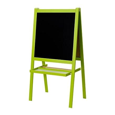 Ikea verde per bambini e lavagna bianca, due lati con cavalletto + ...