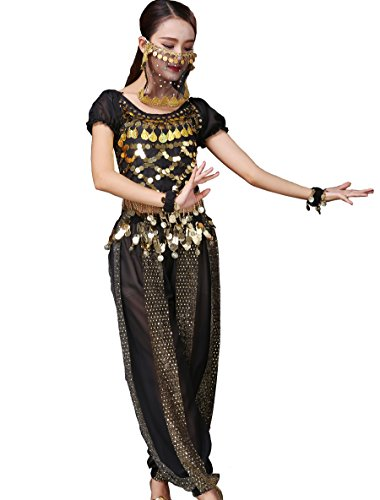 Astage Lady Belly Dancer Costume Halloweem Performance