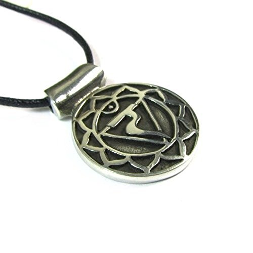 Solar Plexus Chakra - Manipurana, the Solar Plexus Chakra Pendant on Corded Necklace