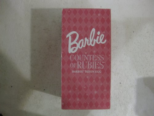 Barbie Countess Of Rubies Barbie Resin Egg From Mattel 2001]()
