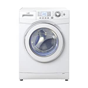 Haier HW70-B1286 Independiente Carga frontal 7kg 1200RPM A++ Blanco - Lavadora (Independiente, Carga frontal, Blanco, 55 L, Botones, Giratorio, 7 kg)