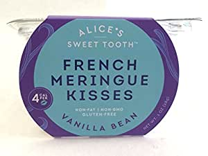 French Meringue Kisses, Vanilla Bean