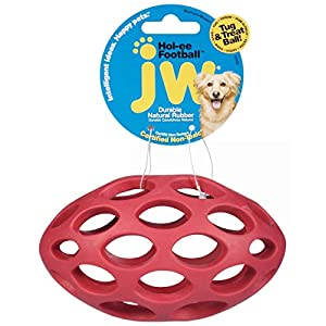 JW Pet Company Sphericon Rubber Dog Toy