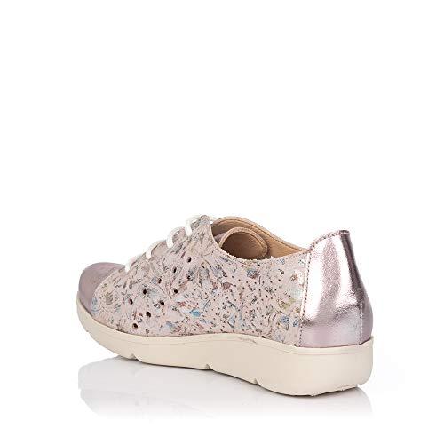 Baerchi Deportivo 37450 Rosa Mujer Zapato Piel 8F81r