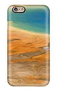 BiTfygO716UolCo Case Cover Protector For Iphone 6 Grand Prismatic Spring Case