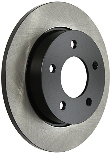 Centric Parts 120.45066 Premium Rear Brake Rotor with E-Coating (Brake Premium Rear Centric)