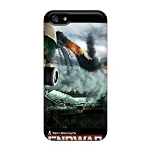 Snap-on Case Designed For Iphone 5/5s- Tom Clancy's Endwar Pilot's View