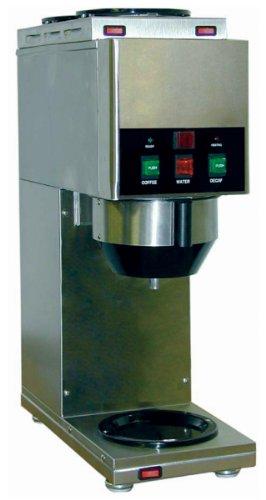 Grindmaster-Cecilware Java 2 QB-D3 W/1 Dispense Head Decanter/Cup Soluble Coffee Dispenser, 2-Hopper