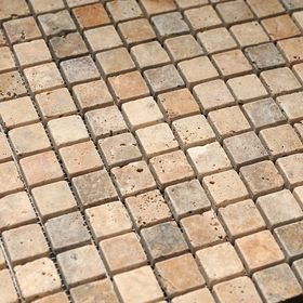 1 Tile Box - SCABOS TRAVERTINE / MIX COLOR TRAVERTINE 1