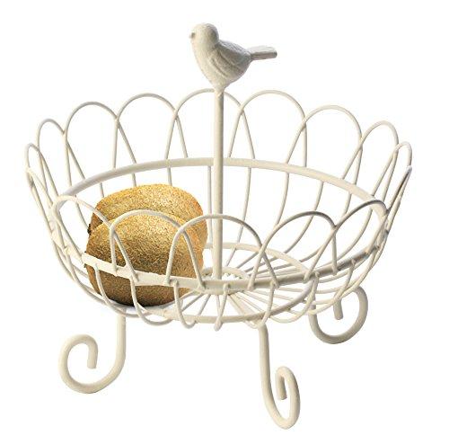 Artestia Fruit Basket / Bowl in Matte White Finish
