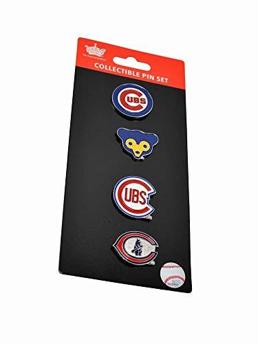 Chicago Cubs Logo Evolution Pin Set
