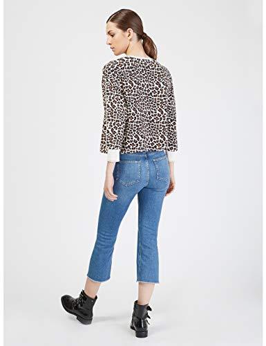 Motivi italian Blu Jeans Size Kick Cropped Flare rFf4rB