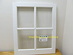 Barn Sash Window PVC 24