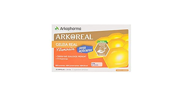 Amazon.com: Arkopharma Arkoreal Royal Jelly + Ginseng 20 amp ...
