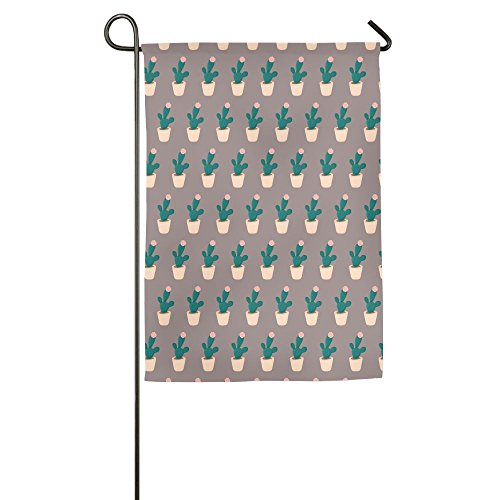 Wyfcxc Cactus Seasonal Garden Flags Wear-resisting 12 X 18 E