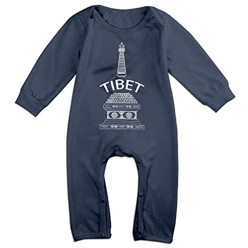 Price comparison product image PAGE2 China City Tibet Newborn Babys Long Sleeve Baby Climbing Clothes Navy Size 18 Months