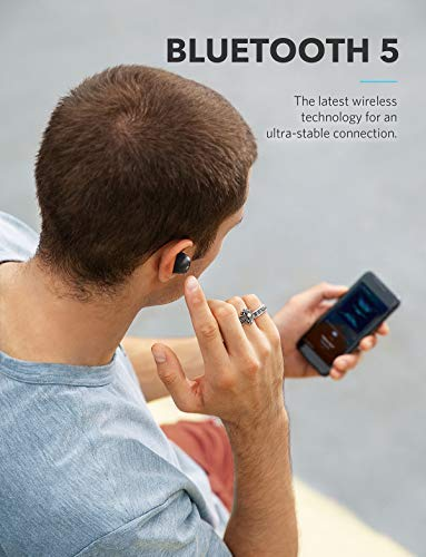 Soundcore Truly-Wireless Earbuds, Liberty Neo by Anker, Wireless Headphones with Graphene-Enhanced Drivers, 12-Hour Playtime, IPX5 Water-Resistant, Stereo Calls, AAC, Microphone, and Bluetooth 5.0 by Soundcore (Image #4)