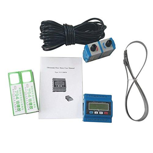 TUF-2000M TM-1 Portable Débitmètre à ultrasons Numérique Débitmètre Débitmètre D'eau Thermique Avec RS-232 Sortie Installation Facile Formulaone 103505