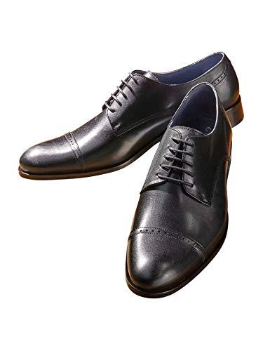 Cuir 41 De Chaussures Ville Cyrillus Noir Homme UMVqzSp