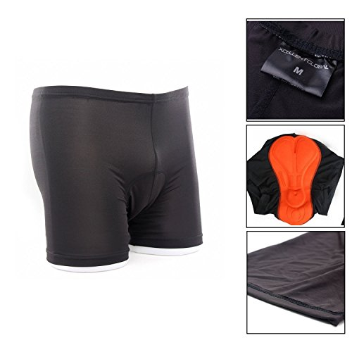 Xcellent Padded Men's Bicycle Underwear Shorts
