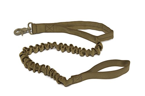 Tenkey-Tactical-Police-K9-Dog-Training-Leash-Elastic-Bungee-USA-Canine-US-Military