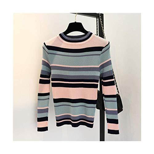 17b23f491e0fd4 Size Size Costine Yellow Autunno Essenziale Girocollo Basic Donna Lunghe  Maniche One color Pink Home A ...