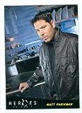 Matt Parkman trading card (Greg Grunberg) 2010 Heroes #12