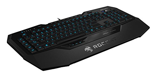 ROCCAT ISKU+ Illuminated Gaming Keyboard, Black