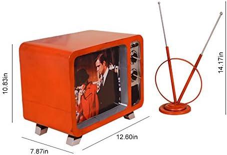 TOPQSC Retro TV Modelo Hacer Antiguo Hierro Craft Regalo Creativo ...