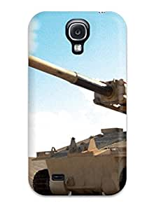 Galaxy S4 Case, Premium Protective Case With Awesome Look - Tank