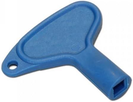 Upmann 20150 - Llave cuadrada de plástico azul