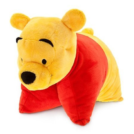 disney parks winnie the pooh reverse pillow pet plush new with tag