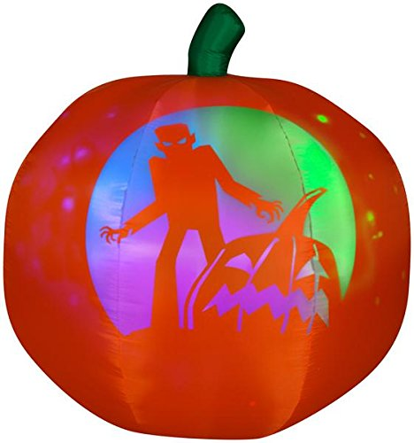 Amazon.com: 5 airblown Panoramic de inflable calabaza de ...