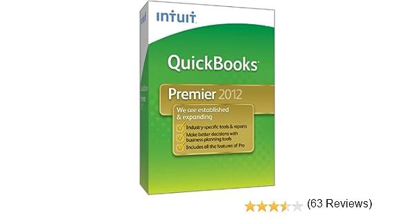 Amazon.com: QuickBooks Premier 2012 [OLD VERSION]: Software