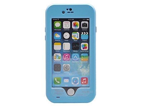 """Bolkin® Hybrid Armor Series Waterproof Case Cover & Stand for Apple Iphone 6 4.7"""" (blue)"""