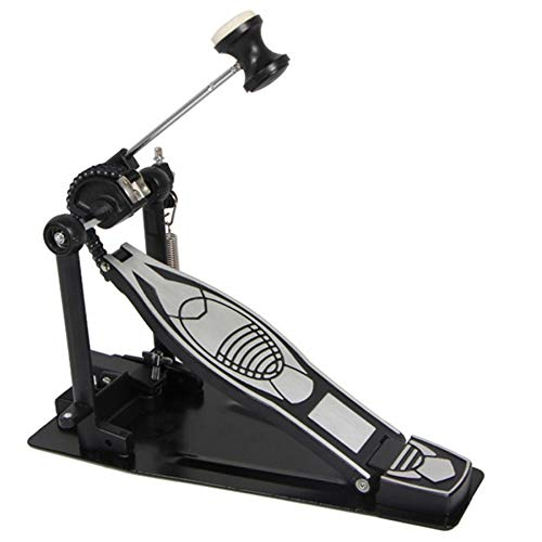 Economy Rack Kit - SODIAL Advanced Rack Bass Hammer Drum Pedal Set With Drum Beater Single Chain Drive Kit For Drummer Single Step Hammer Accessories