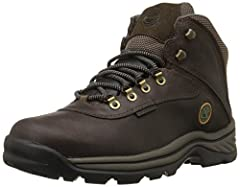 You're sure to have a positive outdoor experience when you have these waterproof boots on your feet. They're comfortable, durable and great looking. Premium waterproof leather for comfort, durability and abrasion resistance. Padded collar fo...