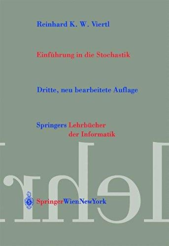 Springers Lehrbücher der Informatik: Einführung in die Stochastik: Mit Elementen der Bayes-Statistik und der Analyse unscharfer Information