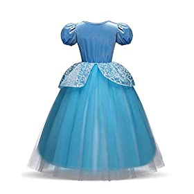 - 41 2Bv0XUVVvL - Children Princess Dress Up Costume Cosplay Dress for Girls Toddlers Party Birthday Girls Dresses Wonderful Gift