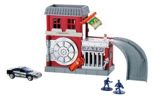 - Matchbox Bank Alarm Playset with Die-Cast Car