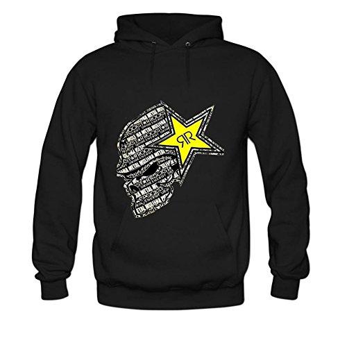 Rockstar Energy Mens hoody Sweatshirt XXXL Black (Rockstar Energy Hoodie compare prices)